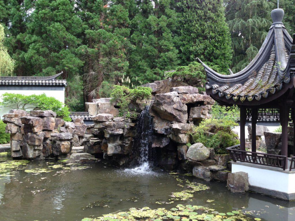 Chinesischer Garten im Botanischen Garten der RUB